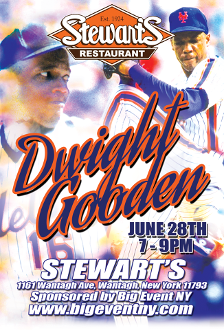 Dwight Gooden Autograph and Photo Op