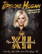 BROOKE HOGAN AUTOGRAPH FOR HEROES AND LEGENDS CONVENTION