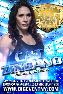 CAT ZIGANO AUTOGRAPH BIG EVENT 19
