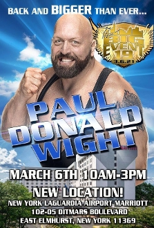 Paul Donald Wight VIP Package  Big Event 19